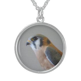 アメリカのKestrelの純銀のネックレス スターリングシルバーネックレス