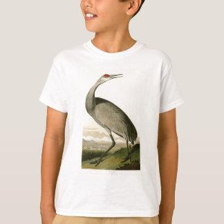アメリカのSandhillクレーンジョン・ジェームズ・オーデュボンの鳥 Tシャツ
