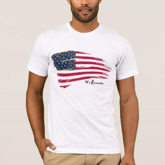 アメリカはホロコーストを覚えています Tシャツ