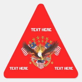アメリカは忘れられなかった三角形見ますノートだけをではないです 三角形シール