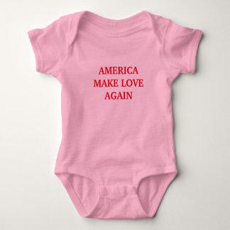アメリカは愛™を再度作ります ベビーボディスーツ