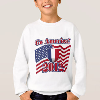 アメリカは行きます! スウェットシャツ