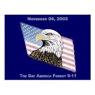 アメリカは9-11を忘れました ポストカード