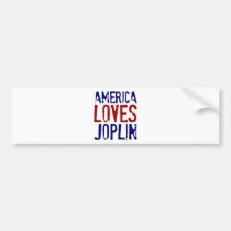 アメリカはJOPLINを愛します バンパーステッカー