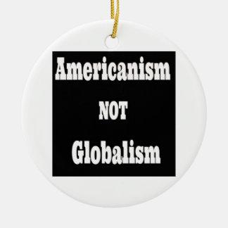 アメリカびいき世界主義ではなく セラミックオーナメント