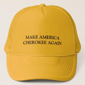 アメリカをチェロキーに再度して下さい キャップ