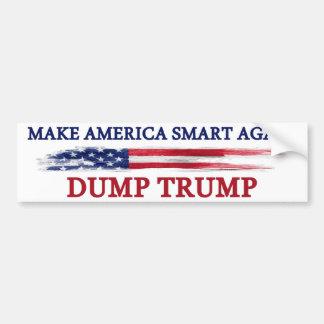 アメリカを切札を投げ出すこと頭が切れるに再度させて下さい バンパーステッカー
