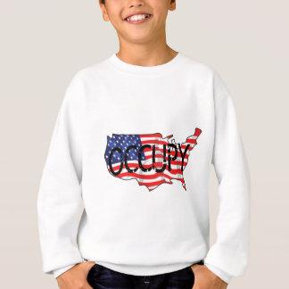アメリカを占めて下さい スウェットシャツ