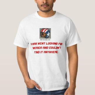 アメリカを捜している容易なライダー Tシャツ