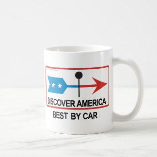 アメリカを発見して下さい コーヒーマグカップ