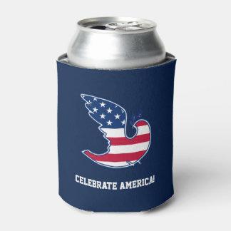 アメリカを祝って下さい! 7月のパーティのクーラーボックスの第4 缶クーラー
