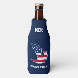 アメリカを祝って下さい! 7月のパーティのボトルのクーラーの第4 ボトルクーラー
