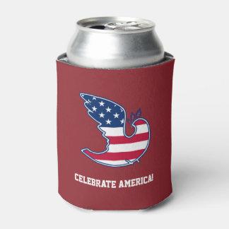 アメリカを祝って下さい! 7月のパーティーのクーラーボックスの第4 缶クーラー