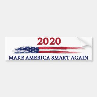 アメリカを頭が切れるに再度させて下さい バンパーステッカー