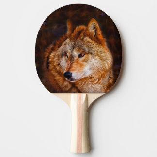 アメリカアカオオカミのフラクタル 卓球ラケット
