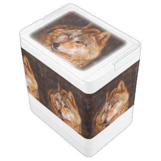 アメリカアカオオカミのフラクタル IGLOOクーラーボックス