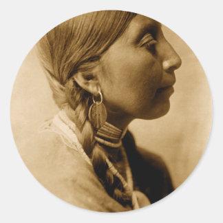 アメリカインディアンのコレクション ラウンドシール