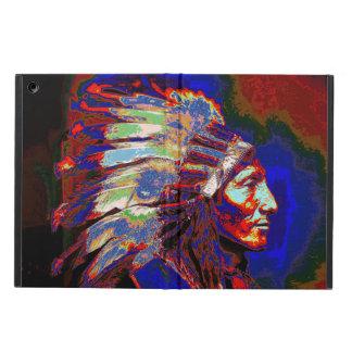 アメリカインディアンの主なグラフィック iPad AIRケース