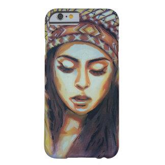 アメリカインディアンの女の子 BARELY THERE iPhone 6 ケース