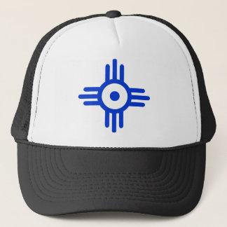 アメリカインディアンの記号 キャップ