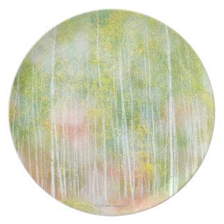 アメリカシラカンバの木 プレート