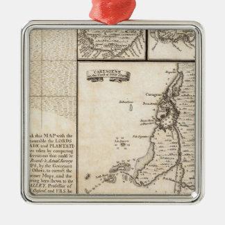 アメリカシート20の大英帝国の地図 メタルオーナメント