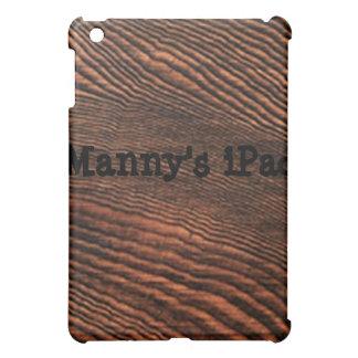アメリカツガの木製の穀物のiPadの場合の*Personalize* iPad Mini Case