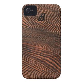 アメリカツガの木製の穀物のiphone 4ケースの*Monogram* Case-Mate iPhone 4 ケース