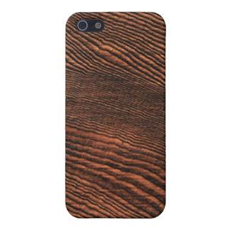 アメリカツガの木製の穀物のiphone 4ケース iPhone 5 case
