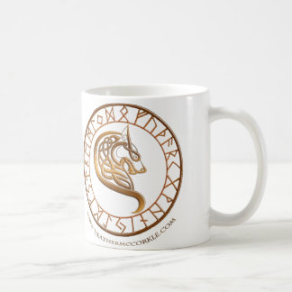 アメリカツガの空のコップ コーヒーマグカップ