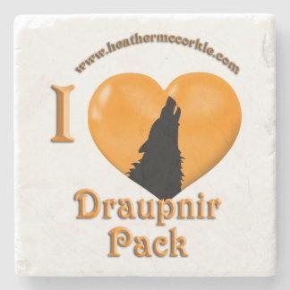 アメリカツガの空のコースターのDraupnirのオオカミ ストーンコースター