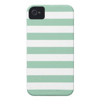 アメリカツガの緑の夏のストライプなiPhone 4/4Sの場合 Case-Mate iPhone 4 ケース