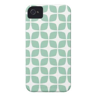 アメリカツガの緑の幾何学的なiPhone 4Sの場合 Case-Mate iPhone 4 ケース