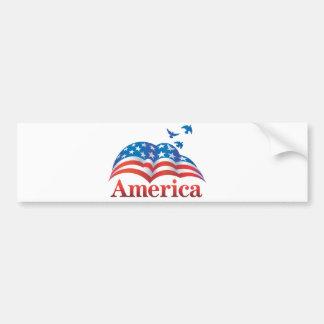 アメリカバンパーステッカーの愛国心が強いバンパーステッカー バンパーステッカー