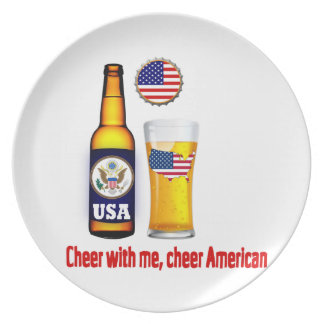 アメリカビールプレート プレート