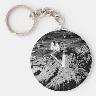 アメリカヘラジカのピーク灯台 キーホルダー