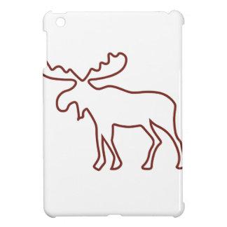 アメリカヘラジカの輪郭 iPad MINI カバー