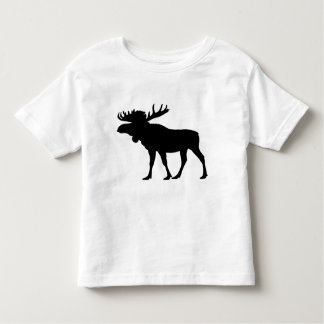 アメリカヘラジカの雄牛 トドラーTシャツ