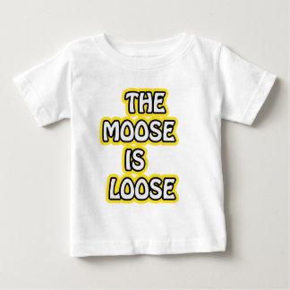 アメリカヘラジカは緩いです ベビーTシャツ