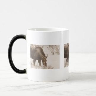 アメリカヘラジカを食べること モーフィングマグカップ