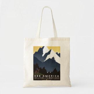 アメリカモンタナを見て下さい トートバッグ