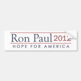 アメリカロン・ポール2012年のための希望 バンパーステッカー