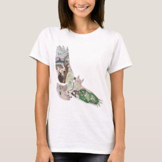 アメリカワシミミズクの生息地 Tシャツ