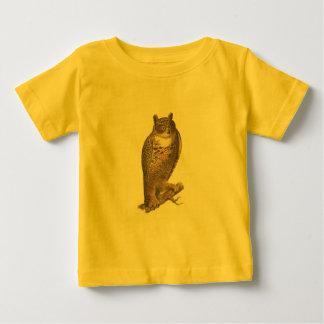 アメリカワシミミズク(Buboのvirginianus) ベビーTシャツ