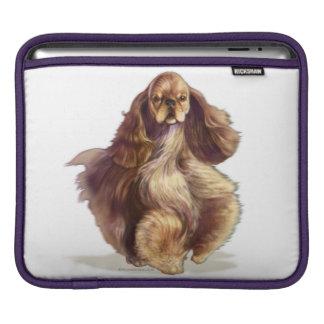 アメリカン・コッカー・スパニエル犬のIpadの袖 iPadスリーブ