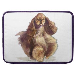 アメリカン・コッカー・スパニエル犬のMacBookのプロ袖 MacBook Proスリーブ