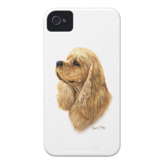 アメリカン・コッカー・スパニエル Case-Mate iPhone 4 ケース