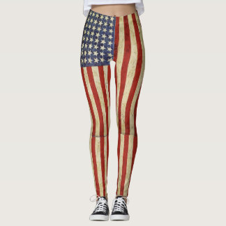 アメリカン・ドリームの旗 レギンス