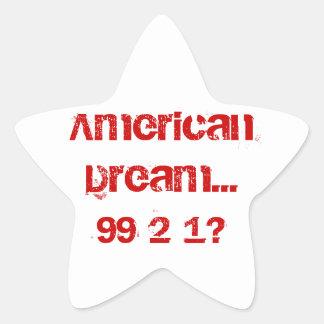 アメリカン・ドリーム… 星シール