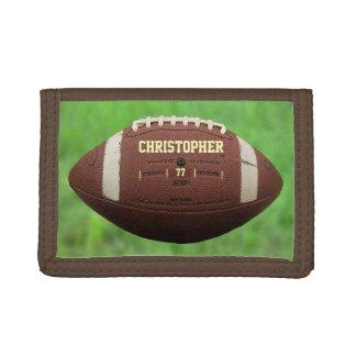アメリカン・フットボールまたはラグビーのボールの財布